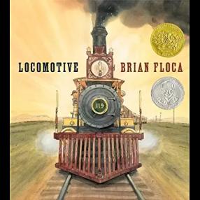 Locomotive by Brian Floca 2014 Caldecott Winner