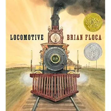 Locomotive by Brian Floca 2014 Caldecott Winner