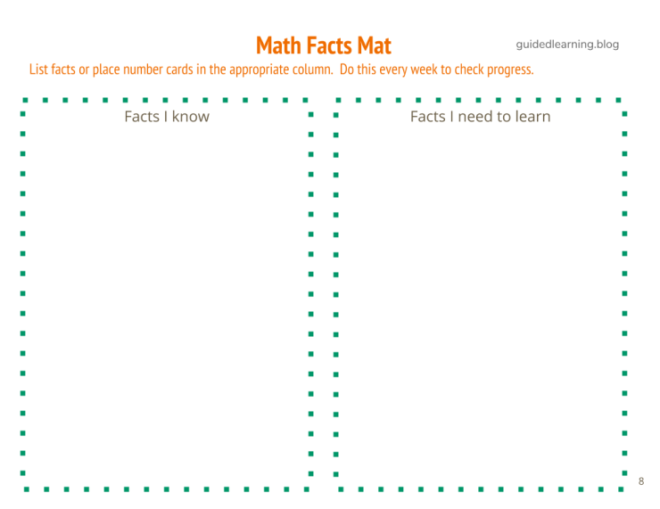 Building Fluency_ Math