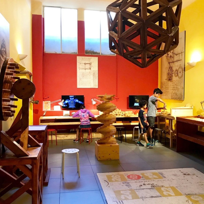 Leonardo DaVinci Museum, Florence