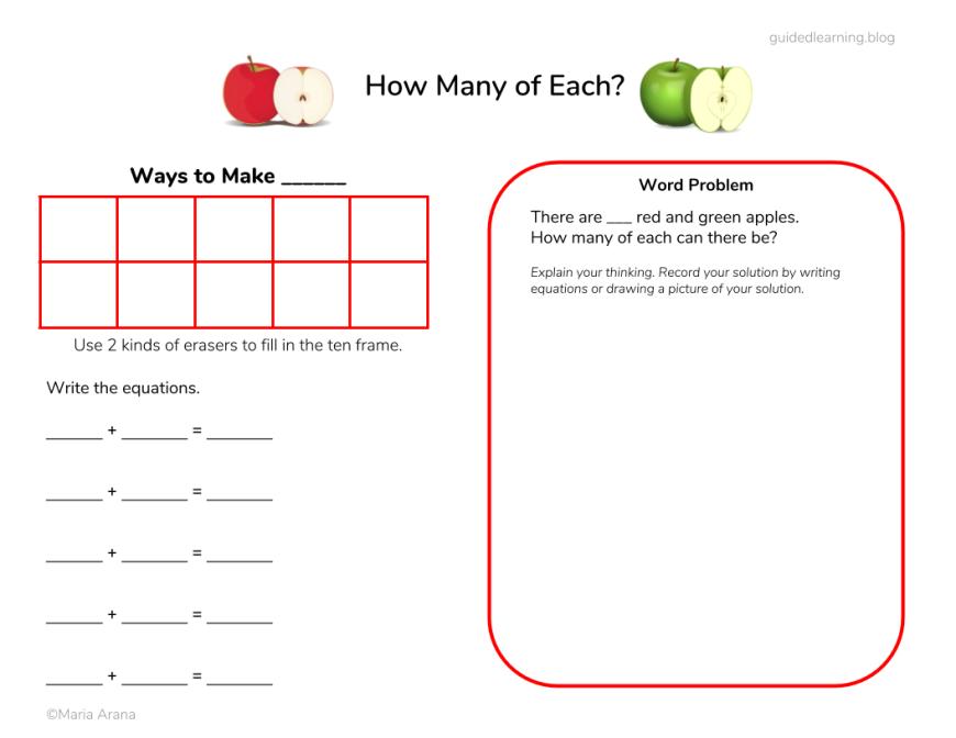 Mini-Eraser Math
